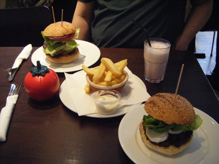 GBK burgers started the quest to find a good burger!  This was from the Westfield GBK.  Their milkshakes are amazing too!