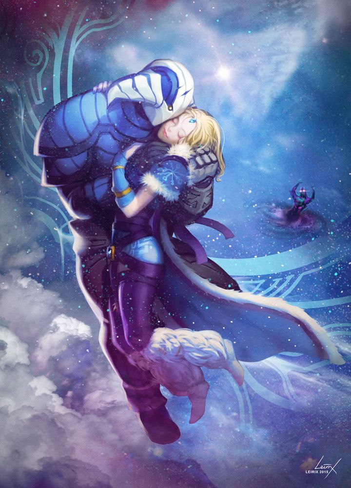 Sven and Crystal Maiden by Lesley Li