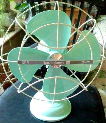 Mid Century Westinghouse Table Top Fan. Vintage FansVintage ...