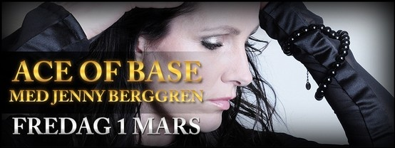 Promo ad from Ritz Nightclub webpage. #jennyberggren #aceofbase