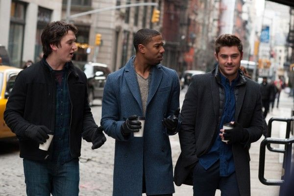 Zac Efron, Miles Teller and Michael B. Jordan struggle to be single in the red band trailer for the upcoming That Awkward Moment.