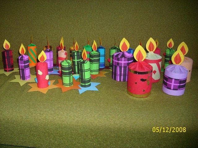 Výrobky na vánoční trhy do školky