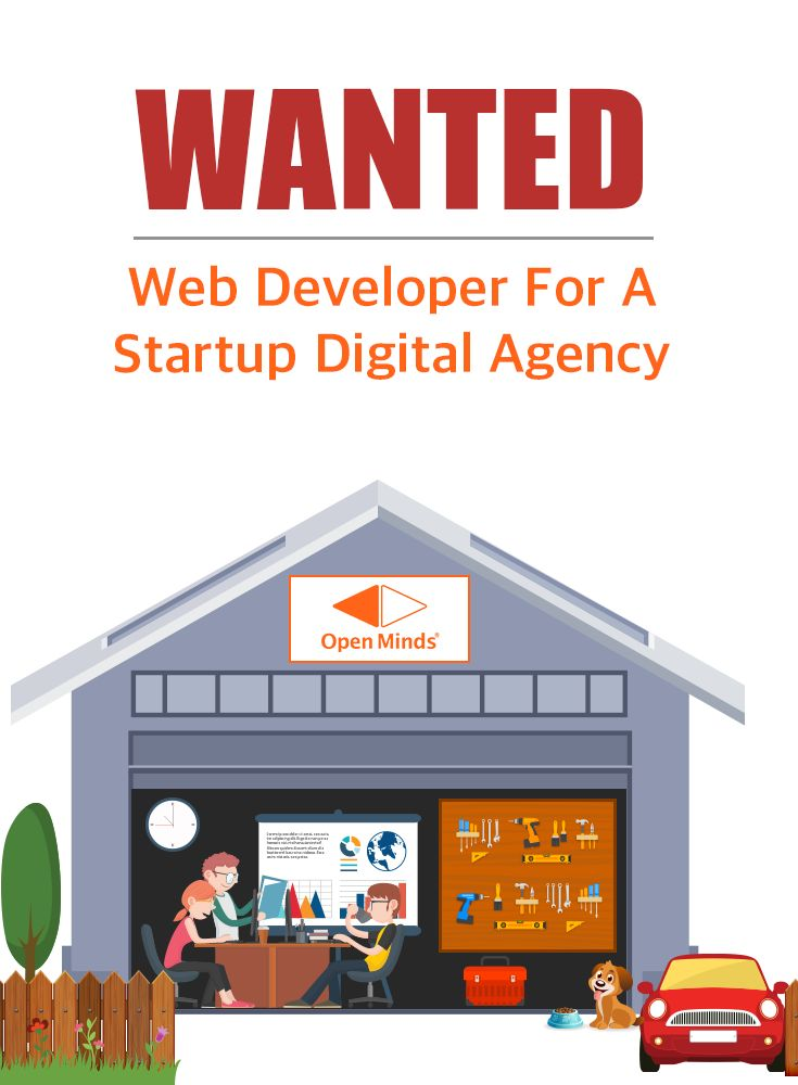 We're recruiting. Web Developers: We're looking for web developers with 2+ yrs experience in Web Design and Development with core-area expertise in CMS - Magento, Wordpress and Joomla. Connect with us if you are ready for the adventure - jobs@openmindsagency.com [Click on the image] #omagency #hiring #jobs #webdeveloper
