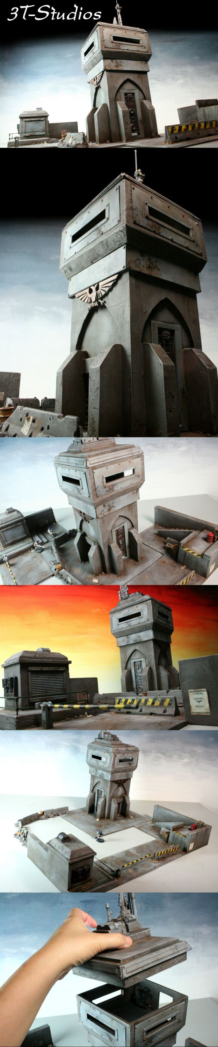 Bastion & Security Checkpoint Set