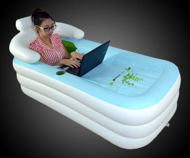The Portable Inflatable Bathtub