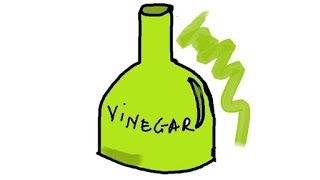 Use of vinegar