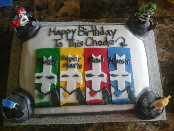 Castle Crashers Cake Cake Ideas Pinterest Birthday
