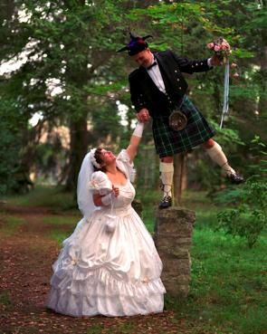 how to wear a kilt to a wedding