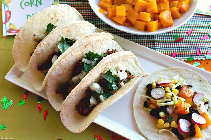 Barbacoa Street Tacos with rich El Yucateco habanero flavor - a quick, easy crowd-pleaser. #KingofFlavor