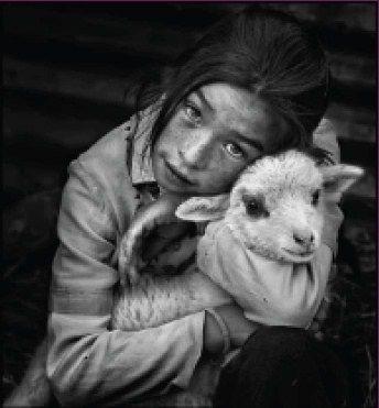 Los niños del mundo en blanco y negro