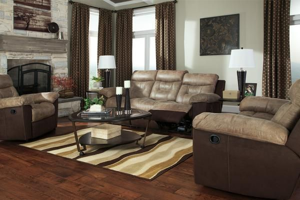 Flexsteel Sofa Nebraska Furniture Mart u Ashley Mocha Microfiber Reclining Sofa and Loveseat