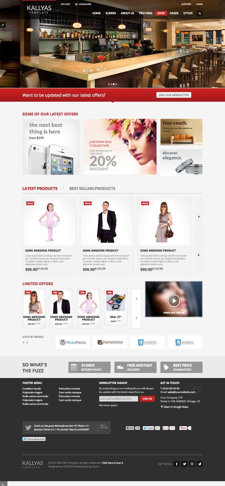Shop Page   Kallyas Wordpress Theme
