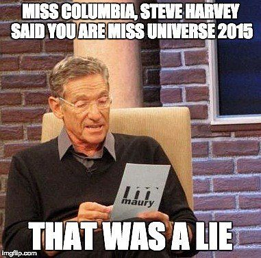 12 Savage Internet Jokes About Steve Harvey's Miss Universe Flub