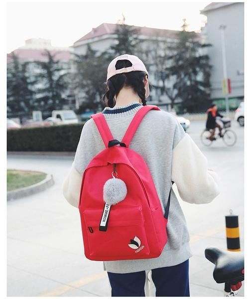 d6a36e045f Women Backpack Female School shopping Bag For Teenagers Laptop Backpacks  canvas Travel Bags Large Capacity Student Bags