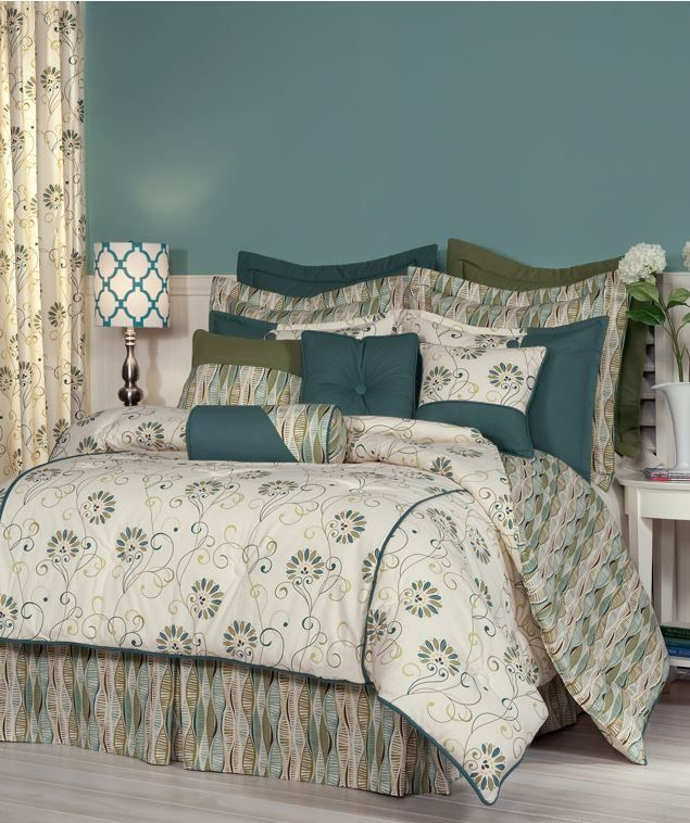 Suzette Bedding Collection A Fresh Approach To Design Is Seen In This Lovely Flower