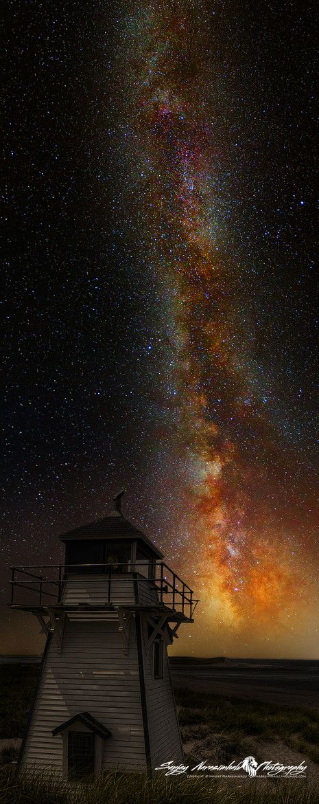 Lighthouse to the Milky Way