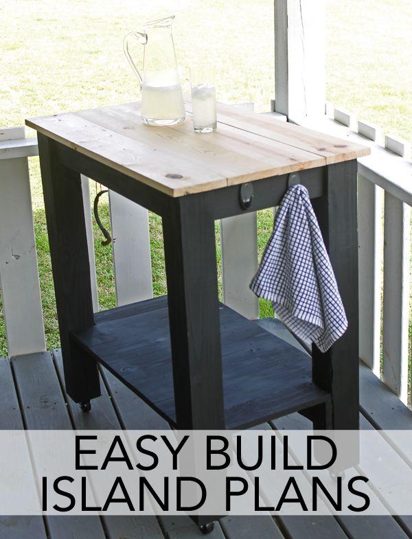 DIY Father's Day Gift: Easy Build Island w/ @commandbrand outdoor hooks.   #DamageFreeDiy #spon
