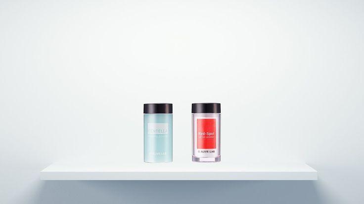 How to Make Acne Care Product | ALIVELAB Centella Dress Powder & Red-spo...