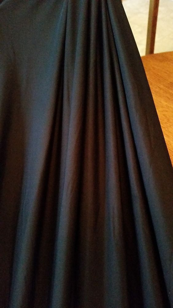Black 4 Way Stretch Fabric Spandex/Lycra Extra Soft Finish #DarlingtonandMooreFabrics