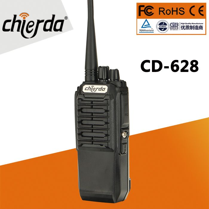 8W police handheld two way radio encrypted two way radios from Chierda CD-628