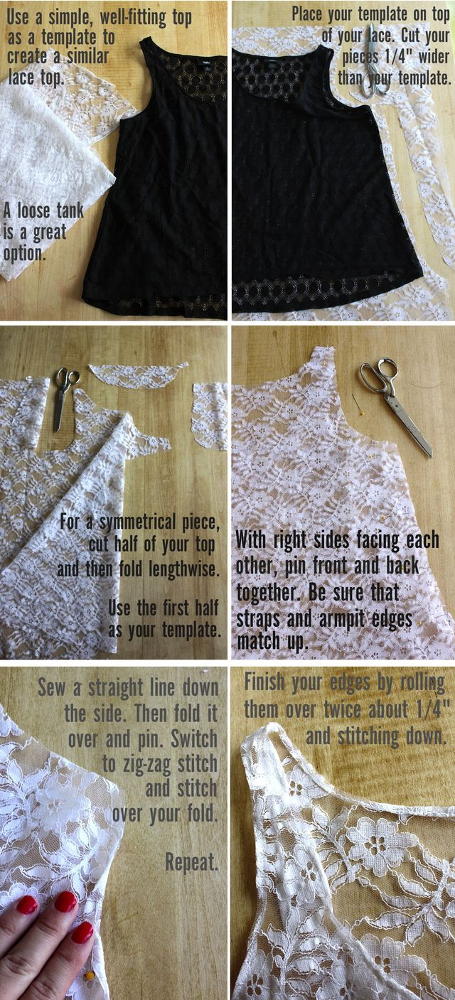 How to make a pattern from a favorite shirt