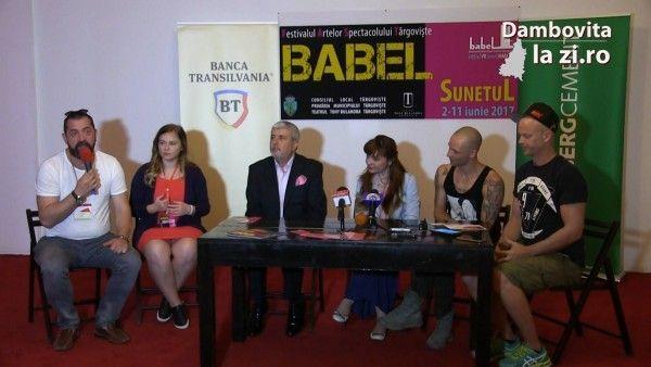 """VIDEO. Tema acestei ediții a Festivalului BABEL este """"SUNETUL"""". M.C. Ranin, director Teatrul """"Tony Bulandra"""" Târgoviște   Dambovitalazi.ro"""