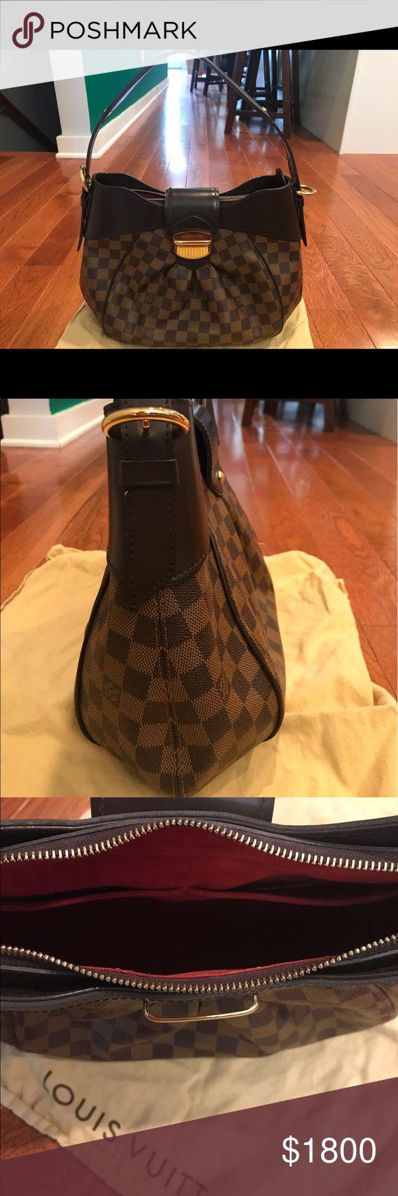 👜Authentic Louis Vuitton Damier Ebene Purse 👜 Authentic Louis Vuitton Damier Ebene Canvas Sistina  Purse - Excellent condition - Pre owned Louis Vuitton Bags Shoulder Bags