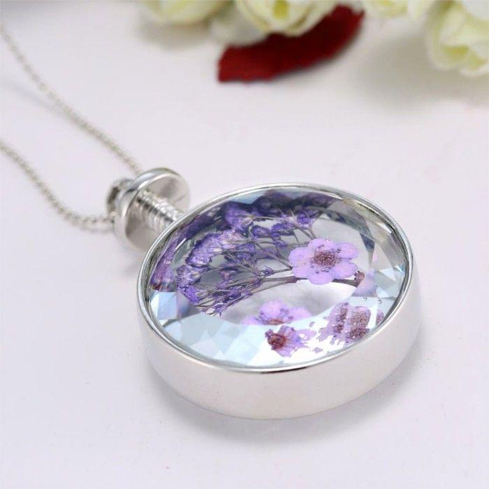 Fashion jewelry necklace fashion jewelry fresh flowers