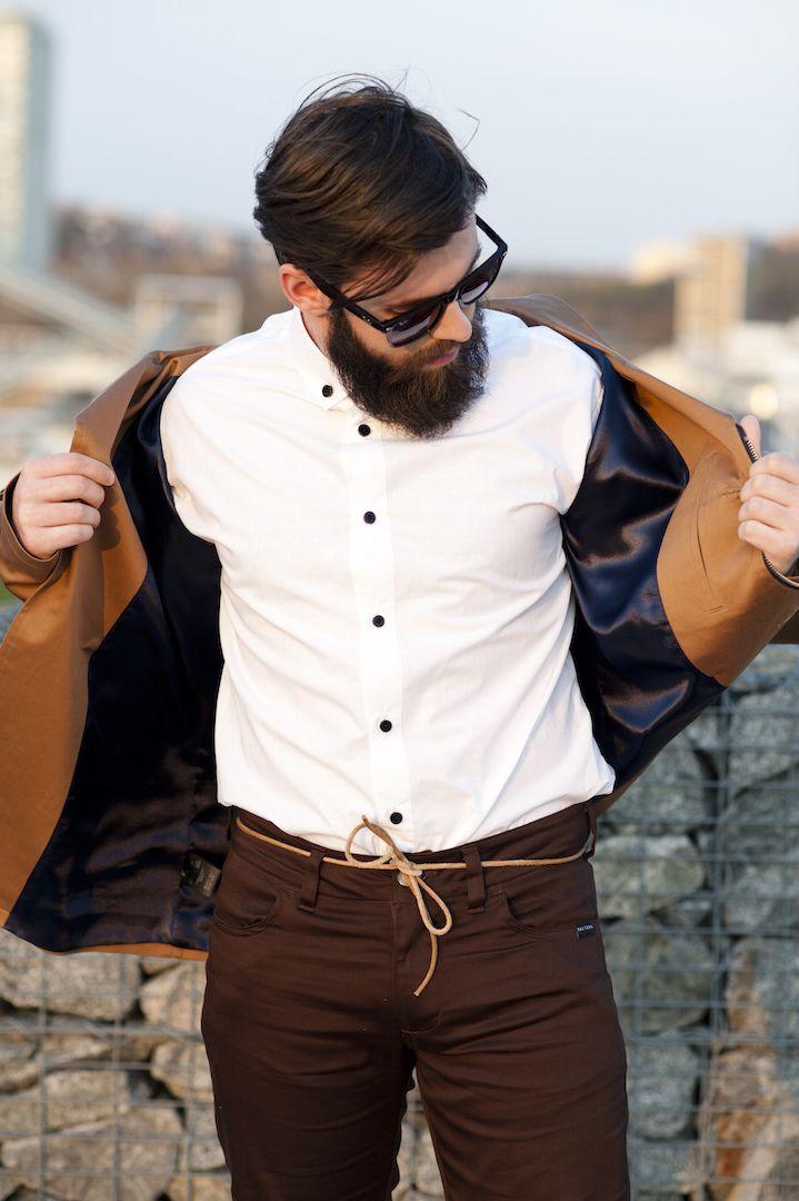 Larch - pánský plátěný kabát