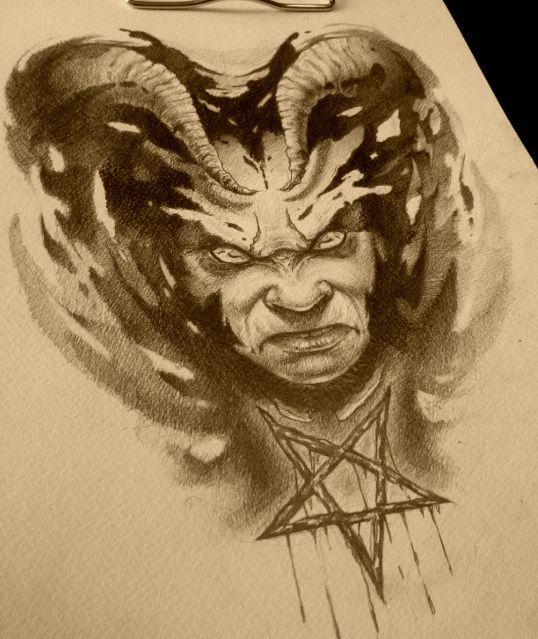 pentagram by AndreySkull on @DeviantArt