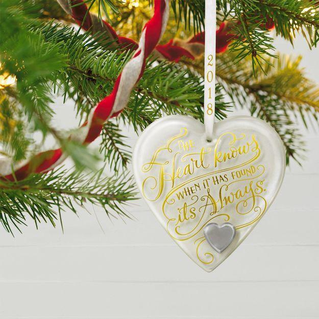 Hallmark Wedding Anniversary Gifts: 9 Best 2018 Keepsake Ornaments Images On Pinterest