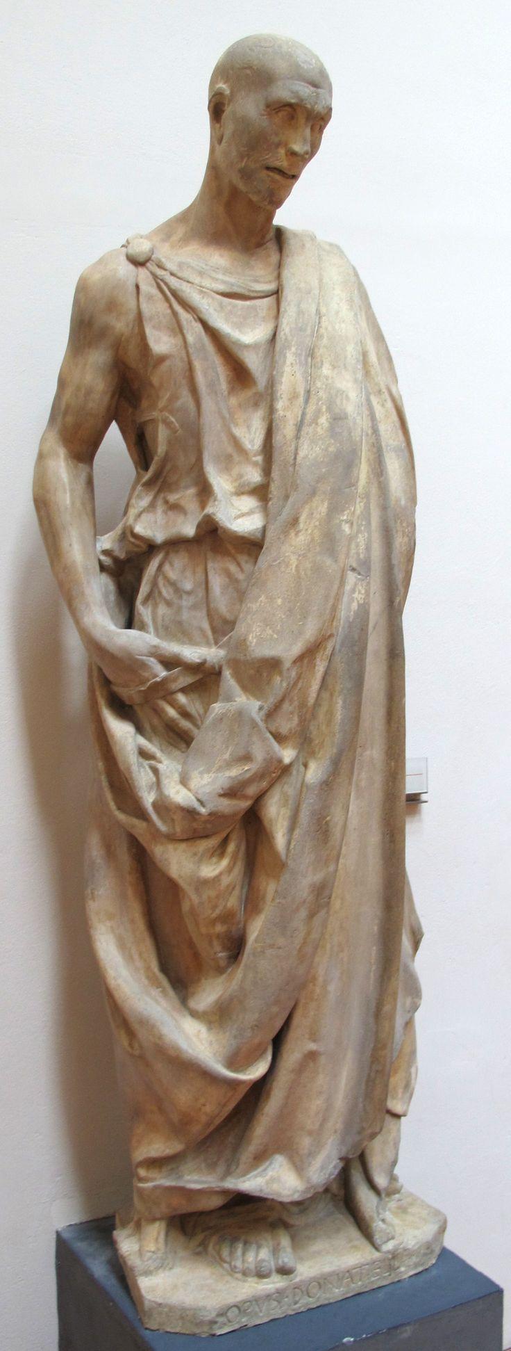 Abacuc, Donatello, 1423-1425, scultura in marmo, Firenze, Museo dell'Opera del Duomo