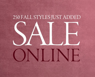fall styles just added. sale online