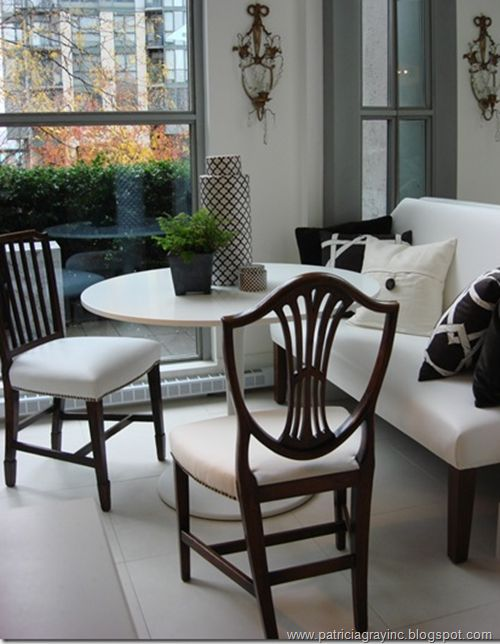 Dining table...for a breakfast nook or dayroom