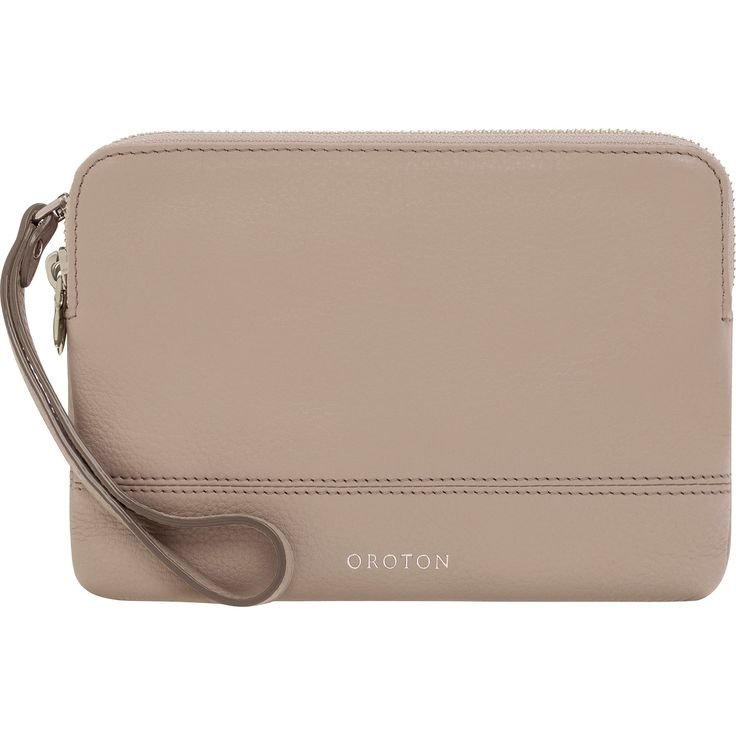 Bueno Double Clutch Bag in Mist // Oroton