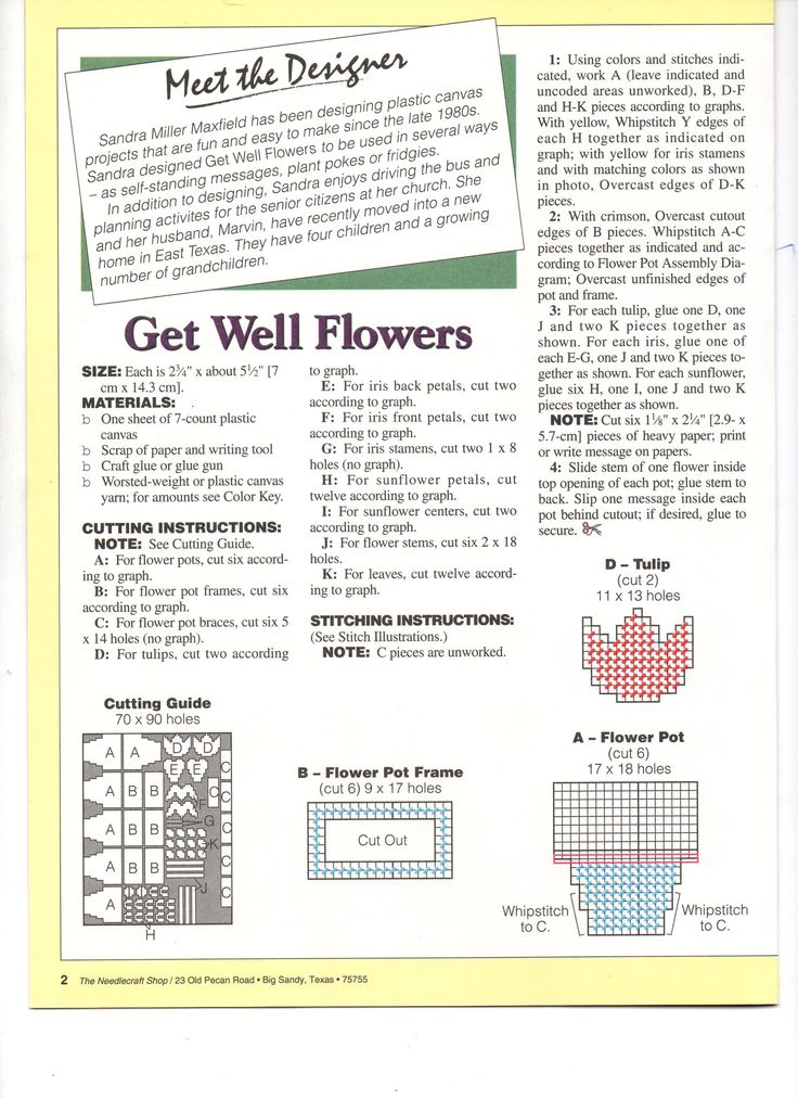 GET WELL FLOWERS 3/4
