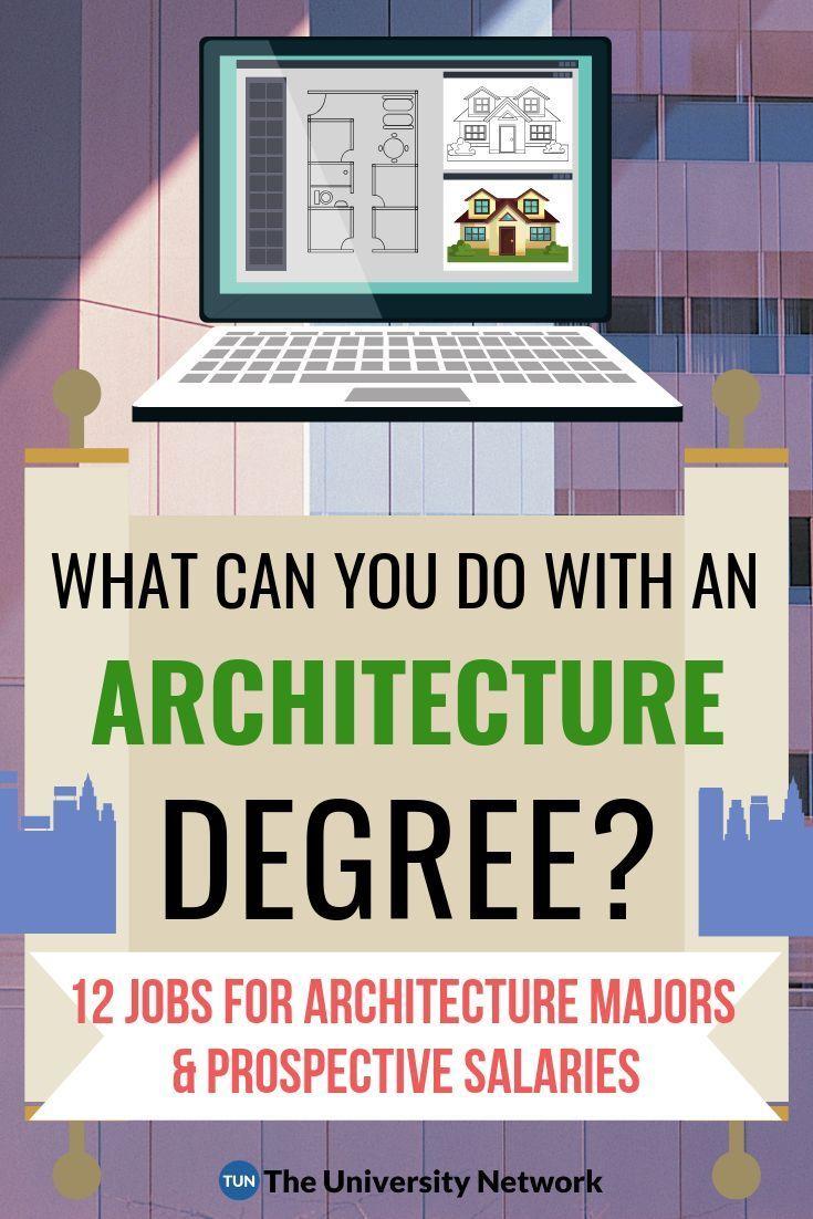 12 Jobs For Architecture Majors Niche Architecture Jobs Architecture Program Architecture Student