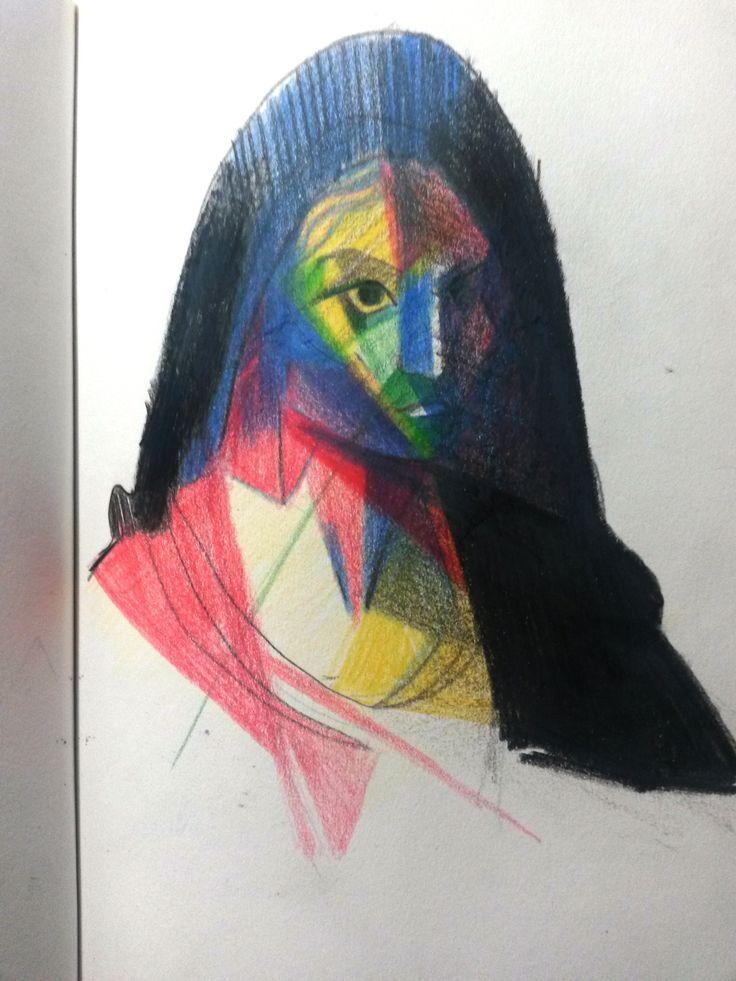 Sketchbook - color pencil