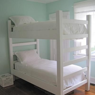 how to make own bunk beds   DIY Build Your Own Bunk Bed Plans PDF Plans Download