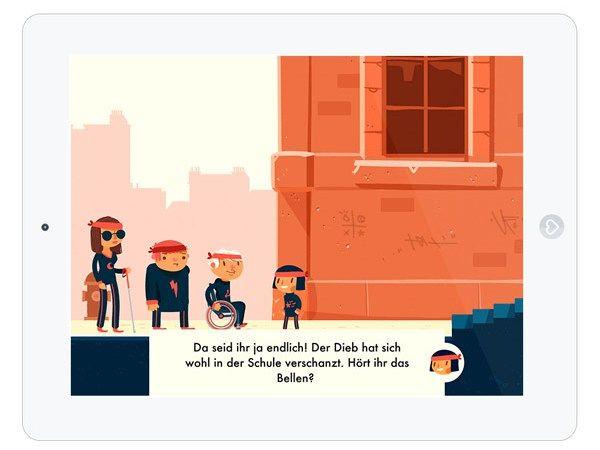 """Erlebe das Abenteuer von vier außergewöhnlichen Freunden: Die Kinder-Spiele-App """"The Unstoppables"""""""