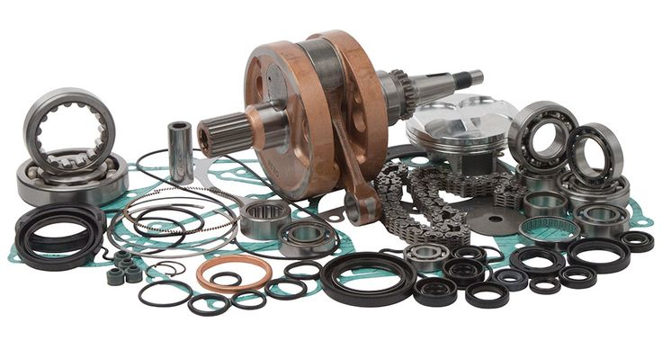 Wrench Rabbit Complete Engine Rebuild Kit for 2004 Honda CRF250R