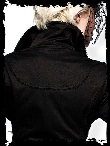 Dámsky kabát Queen Of Darkness JA1-210/10 - 2