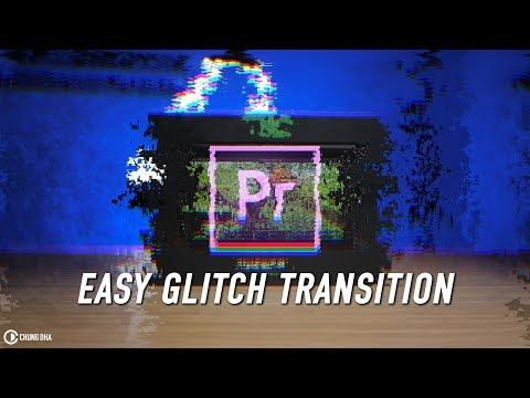 Easy Glitch Transition // Premiere Pro Preset // Chung Dha