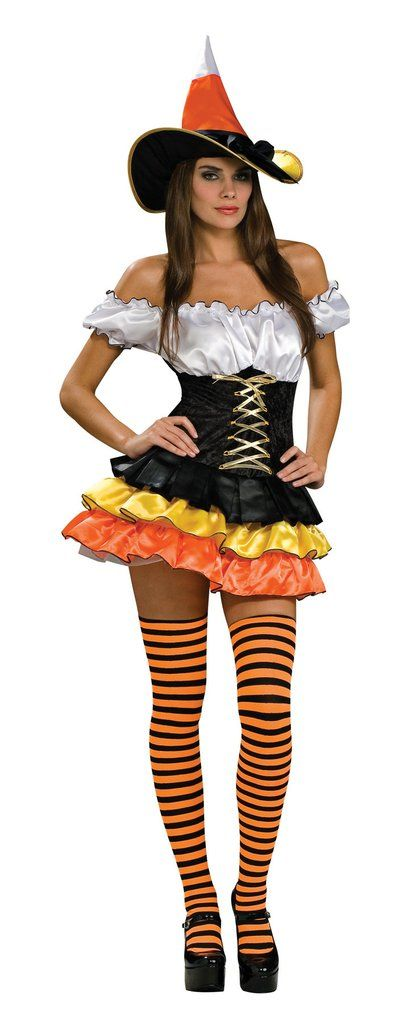 CANDY CORN CUTIE ADULT XSMALL Womens Costumes Classic Halloween Witches