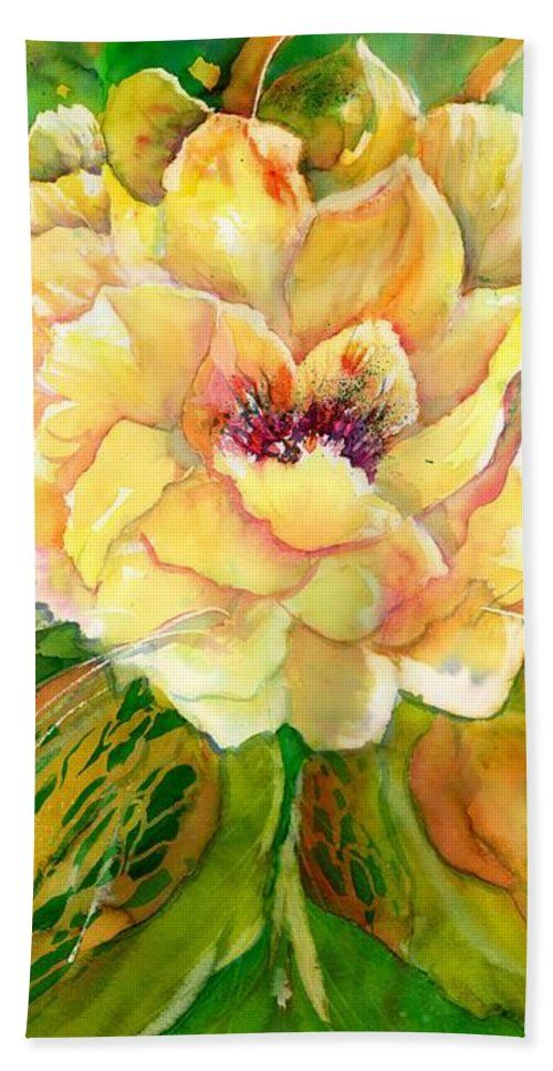 Yellow Peony Flowers Beach Towel For Sale By Sabina Von Arx In 2018