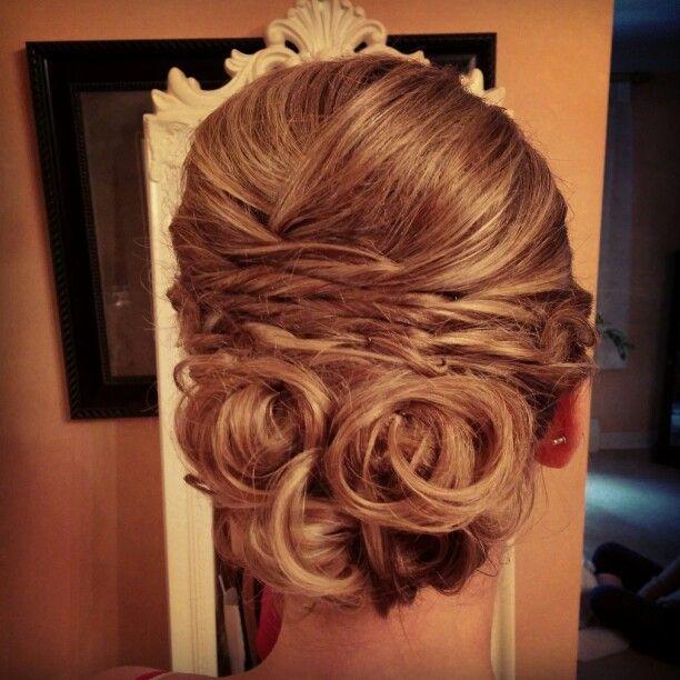 Maid Of Honor #updo #bridalhair #wedding