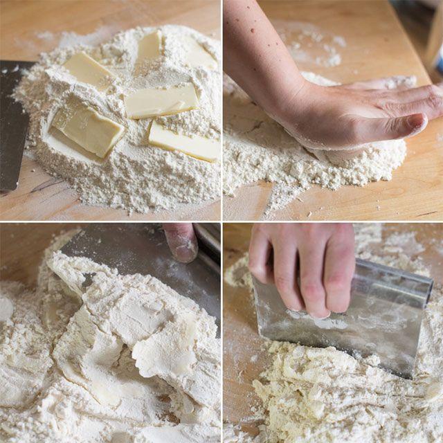 No Bowl Buttermilk Biscuit Recipe from Inspired Taste (www.inspiredtaste.net)