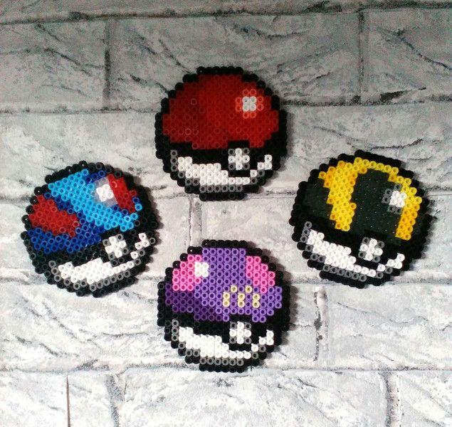 Wanddeko - Wandsticker, Pokemon, Pokeball, Superball - ein Designerstück von Astrid-Zauberstuebchen bei DaWanda