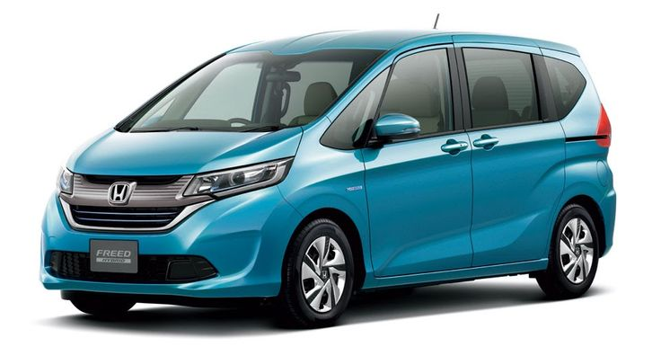 Honda Freed Fits Seven Into Its Tiny Form #Honda #Honda_Fit