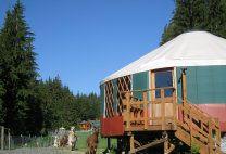 Roundhouse Yurt at Paca Pride Guest Ranch - Granite Falls Wa